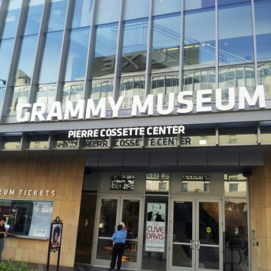 Photo taken at The GRAMMY Museum by Jennifer A. on 10/14/2012