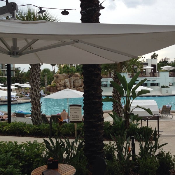 Photo taken at Marriott World Center Pool by Leigh C. on 10/21/2014