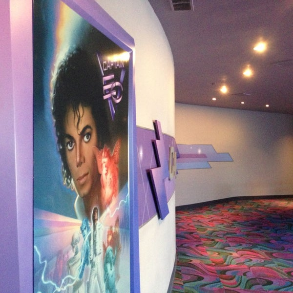 Photo taken at Captain EO by Christopher W. on 7/29/2013