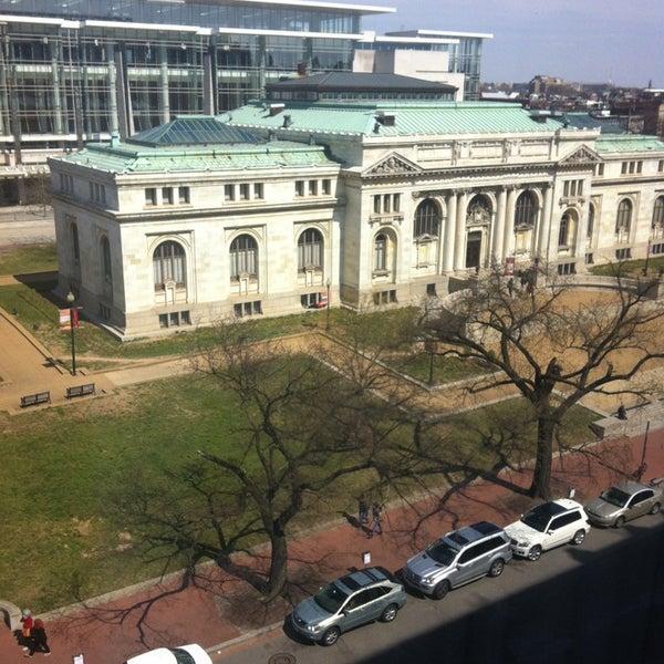 Photo taken at Renaissance Washington, DC Downtown Hotel by Ashley H. on 3/23/2013