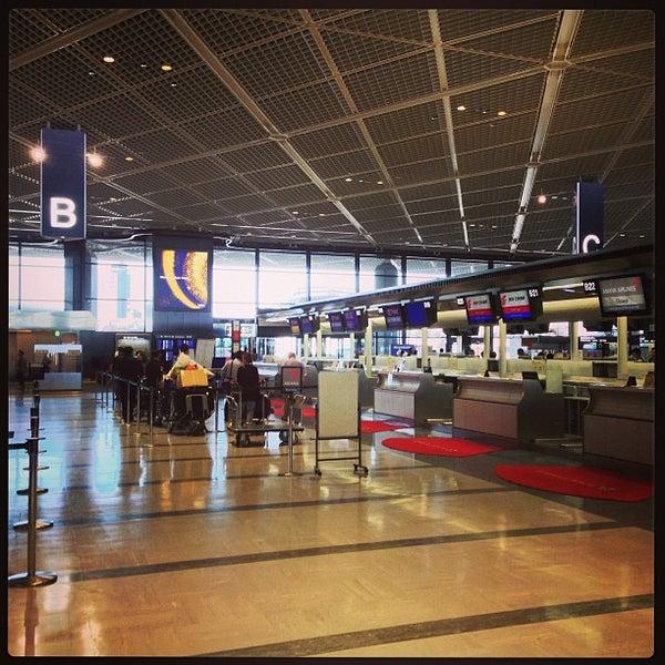 Photo taken at Narita International Airport (NRT) by Jiro Y. on 5/23/2013