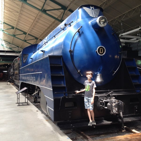 Photo taken at Railroad Museum of Pennsylvania by Grace N. on 7/18/2014