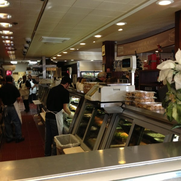 Photo taken at Nate 'n Al Delicatessen by Martin W. on 12/30/2012