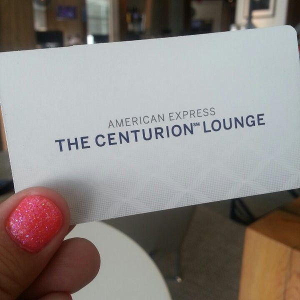 Photo taken at The Centurion Lounge Las Vegas by Kristi L. on 5/15/2013