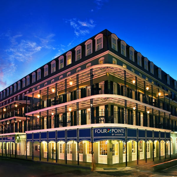 four points by sheraton french quarter hotel in new orleans. Black Bedroom Furniture Sets. Home Design Ideas