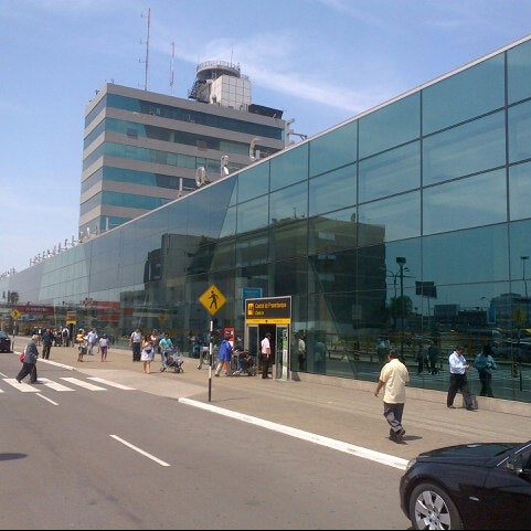 Photo taken at Jorge Chávez International Airport (LIM) by Fabien A. on 3/31/2013