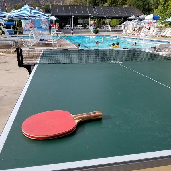 Gerrish Swim And Tennis Club Pool In Pasadena