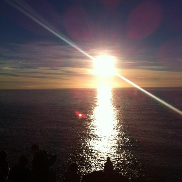 Photo taken at Faro de Cabo Vilán by Gökçe D. on 9/8/2013