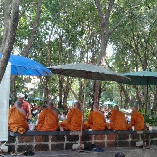 Photo taken at ลานใส่บาตร by Mini n. on 12/2/2012