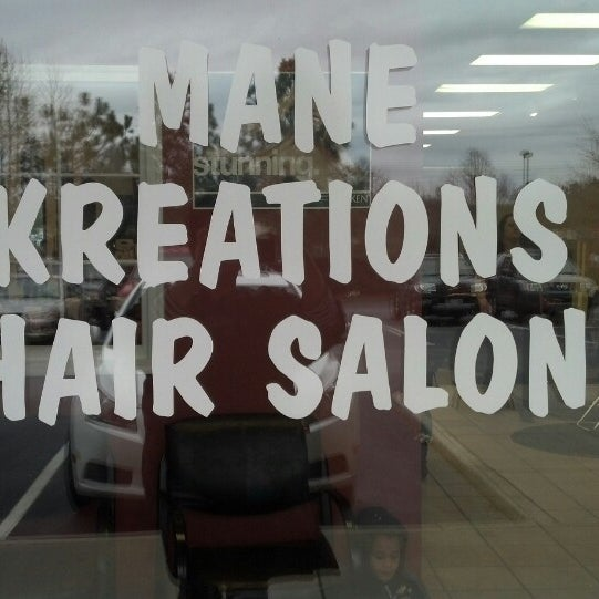 Mane kreations salon salon barbershop for A kreations salon