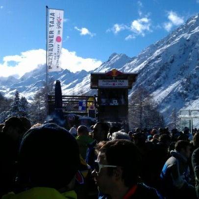 Photo taken at Paznauner Thaya by Sergej on 12/1/2012