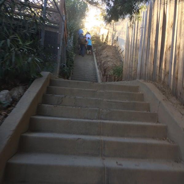 Photo Taken At Pasadena La Loma Secret Stairs By Alex💨 R. On 12/