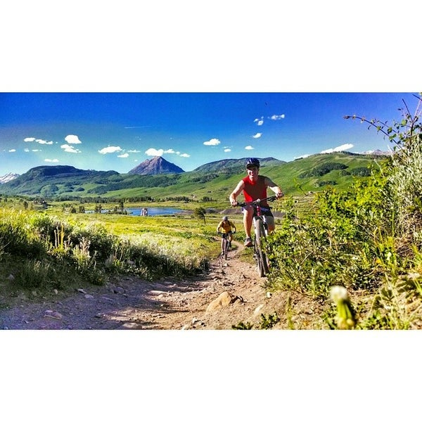 Photo taken at Crested Butte, CO by Bailey E. on 7/10/2014