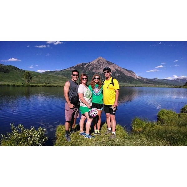 Photo taken at Crested Butte, CO by Bailey E. on 6/30/2014