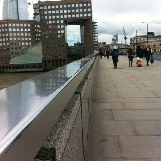 Photo taken at London Bridge by Andrew L. on 10/3/2012