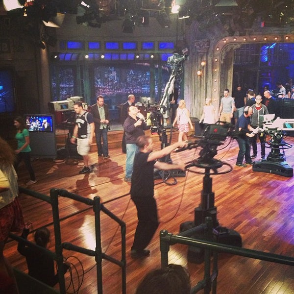 Photo taken at Late Night with Jimmy Fallon by Briana R. on 7/16/2013