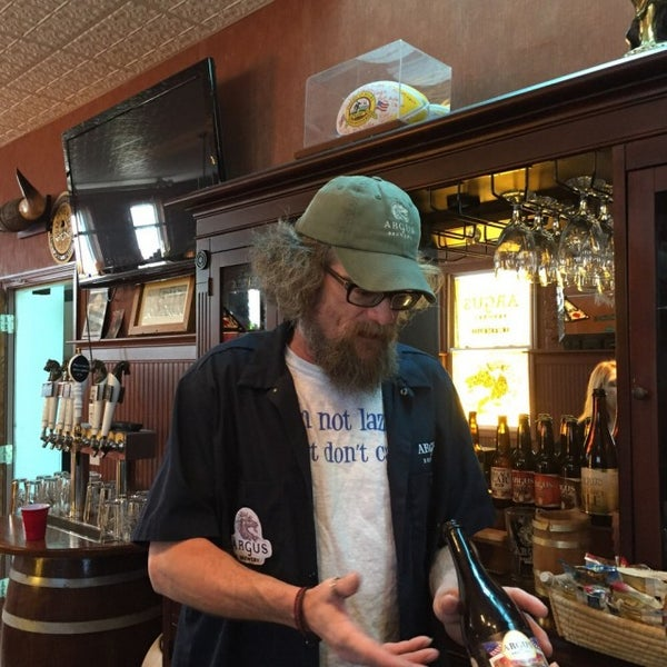 Photo taken at Argus Brewery by denise c. on 3/7/2015