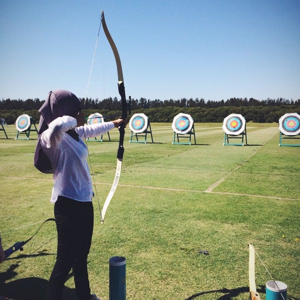 Photo Taken At Sydney Olympic Park Archery Centre By RIETS On 10 26 2014