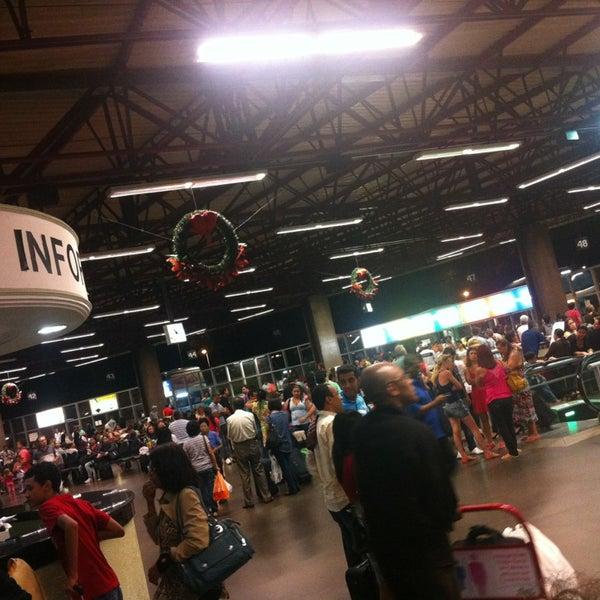 Photo taken at Terminal Rodoviário José Garcia Villar by Rodolpho Izac C. on 1/2/2013