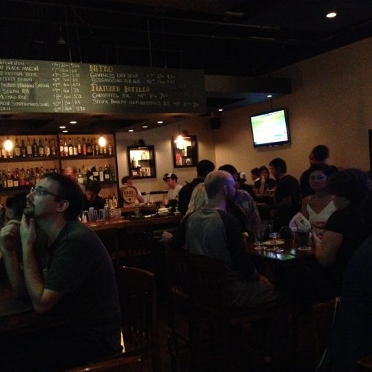 Photo taken at Pint + Jigger by s t. on 10/21/2012
