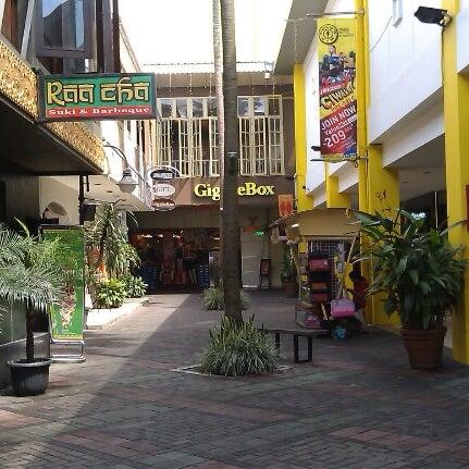 Photo taken at Cihampelas Walk (CiWalk) by Anton W. on 12/23/2012