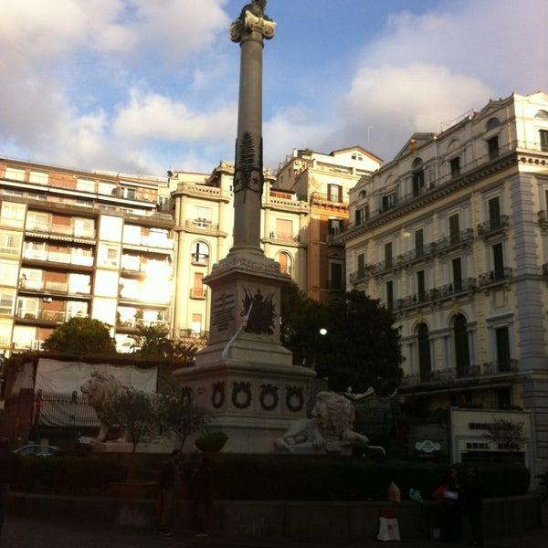 Photo taken at Piazza dei Martiri by Davide B. on 12/23/2012