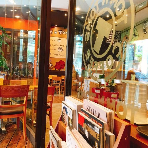 Photo taken at TOM N TOMS COFFEE by ssoom on 4/30/2016