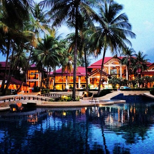 Photo taken at Dusit Thani Laguna Phuket by W R. on 2/16/2013