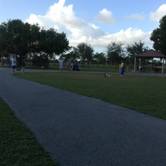 Photo taken at Markham Park by Ulises S. on 12/2/2012