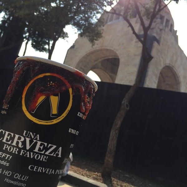 Das Foto wurde bei Mirador Monumento a la Revolución Mexicana von Rodrigo P. am 2/25/2018 aufgenommen
