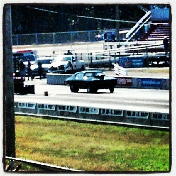 Photo taken at Atco Raceway by Chuck W. on 10/14/2012