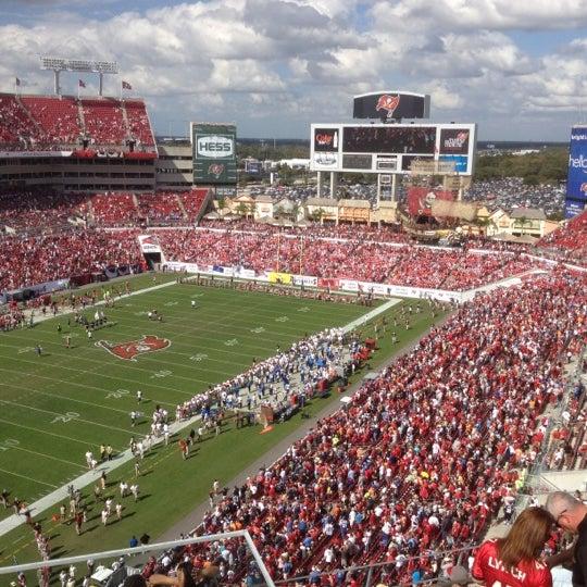 Photo taken at Raymond James Stadium by G$ on 11/11/2012