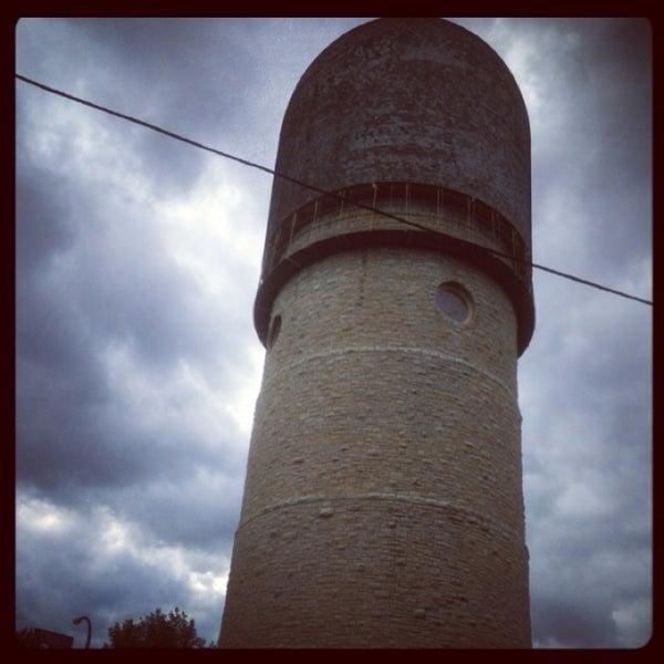 Photo taken at Ypsilanti Water Tower by Kris P. on 8/11/2013