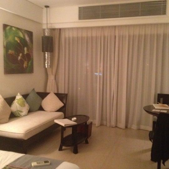Photo taken at HowardJohnson Resort Sanya Bay by Anu A. on 9/22/2012