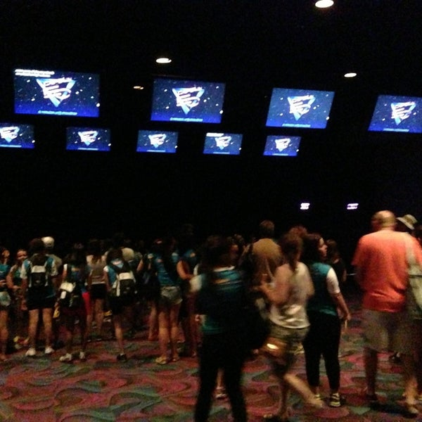 Photo taken at Captain EO by Aaron S. on 7/22/2013