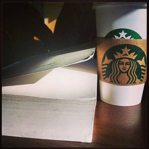 Photo taken at Starbucks by Adam G. on 1/26/2013