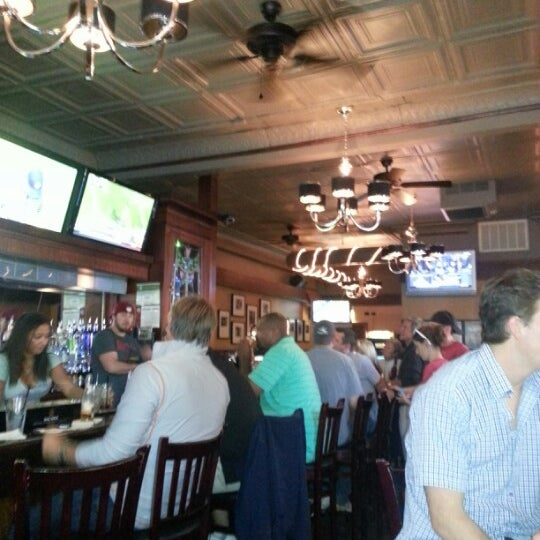 Photo taken at Wellington's Tavern by Lindsey W. on 9/29/2012