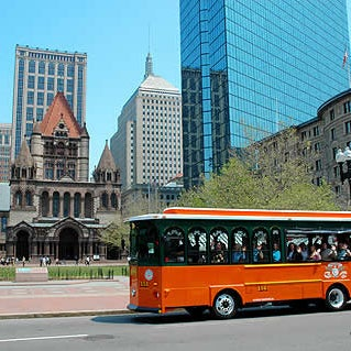 Photo Taken At Old Town Trolley Tours Boston By T On 5 28