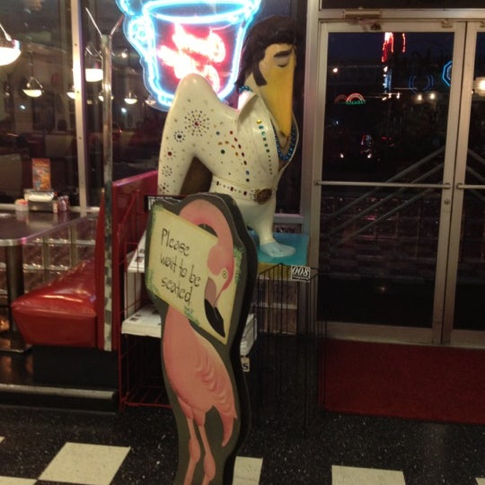 Photo taken at Hub City Diner by Ian R. on 11/8/2012