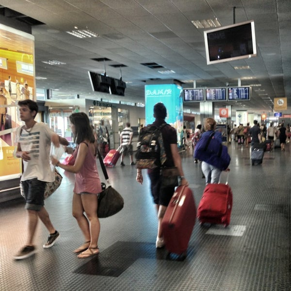 Photo taken at Palermo Airport (PMO) by Cath_woman on 8/23/2013
