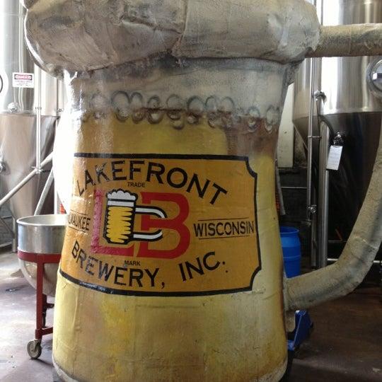 Photo prise au Lakefront Brewery par Art A. le11/11/2012