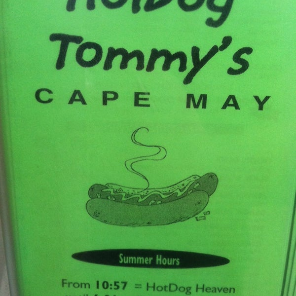 Photo taken at Hotdog Tommy's by Brett B. on 7/4/2014