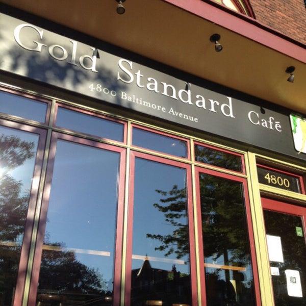 Photo taken at Gold Standard Cafe by Halil A. on 5/27/2016