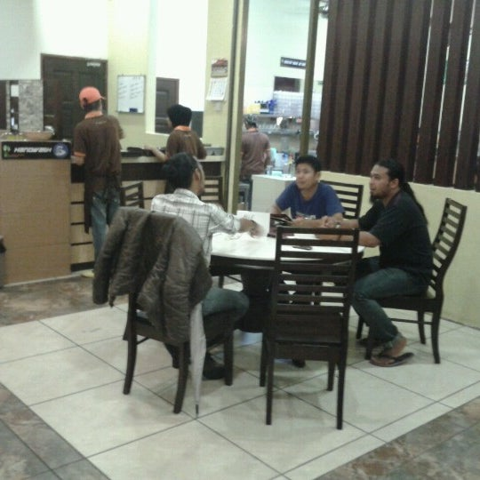 Photo taken at De Pauh Garden Restaurant & Cafe by My S. on 1/4/2013