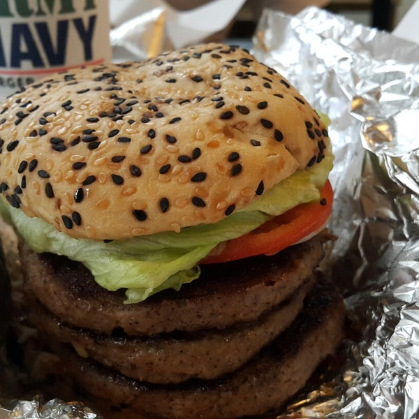 Photo taken at Army Navy Burger + Burrito by Jhon G. on 10/28/2014