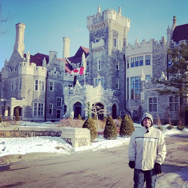 Photo taken at Casa Loma by Julio Cesar d. on 2/15/2013