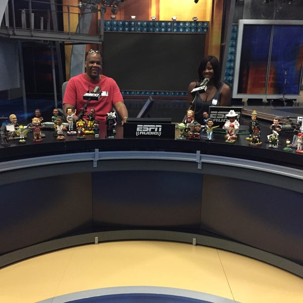 Photo taken at ESPN by Natasha B. on 9/6/2015