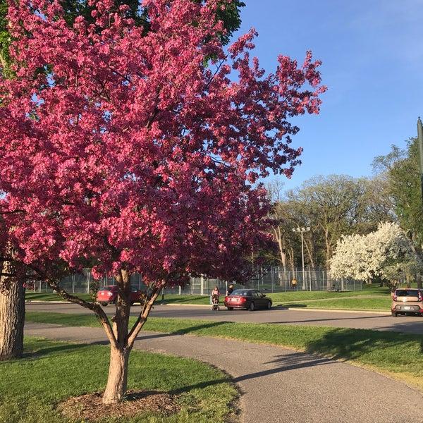 Photo taken at Island Park by Ryan K. on 5/13/2017