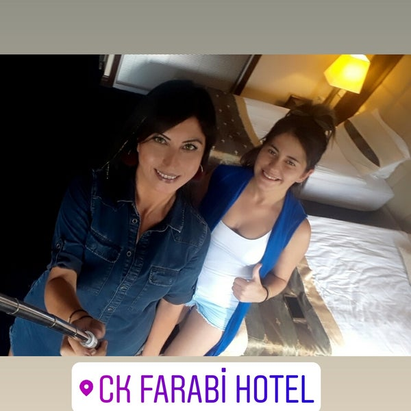7/14/2018 tarihinde Büşra K.ziyaretçi tarafından CK Farabi Hotel'de çekilen fotoğraf