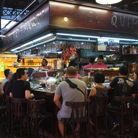 Foto tomada en El Quim de la Boqueria por Jess el 10/11/2012